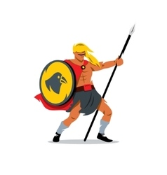 Viking Warrior Cartoon vector image vector image