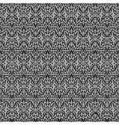 dark seamless lace with floral pattern vector image vector image