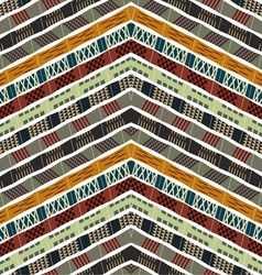 Abstract seamless ethnic pattern vector image