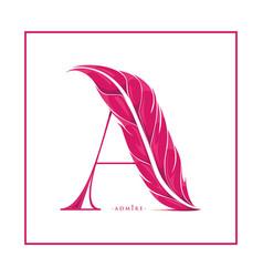 Admire logo or vector