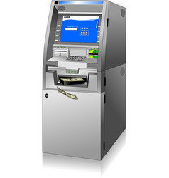 cash machine vector image