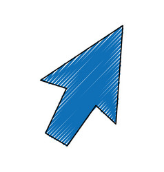 Click arrow cursor vector