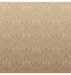 Light Brown Floral Background vector