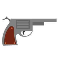Loaded gun or color vector