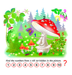 logic puzzle game math education for young vector image