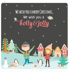 Merry Christmas and Happy New 2016 Year vector