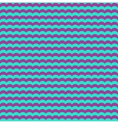Purple and blue waves seamless background vector image