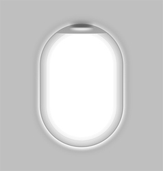Aircrafts window vector image vector image