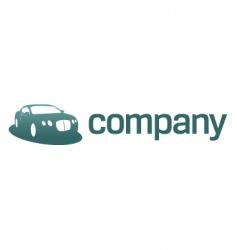 luxury car logo transport vector image