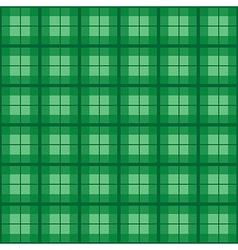 Green tartan background vector