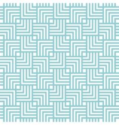 Square chevron pattern background blue green vector