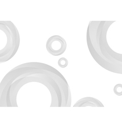 Abstract tech circles background vector