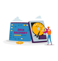Backup data recovery and protection service vector