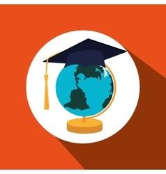 Graduation celebration design vector
