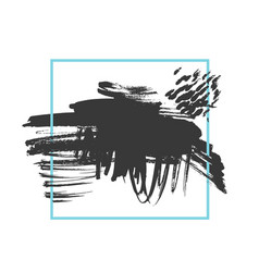 grunge brushed background vector image