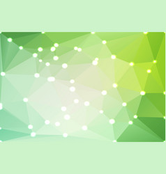 Light green shades geometric background with vector