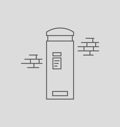 London Post Box vector