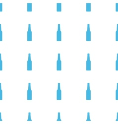 Unique Bottle seamless pattern vector image