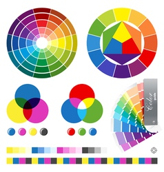 Color guides vector