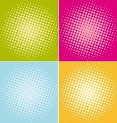halftone-dots vector image vector image