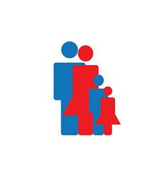 Icon Build Family vector image