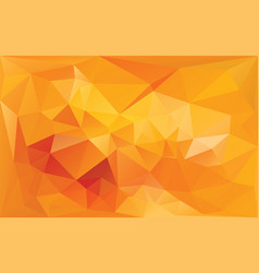 abstract background in yellow orange colors vector image