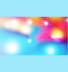abstract colorful watercolor style background vector image