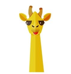 animals flat design vector image