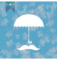 Background on theme autumn EPS 10 vector image