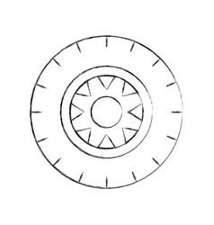 car wheel service concept vehicle maintenance road vector image vector image