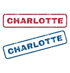 Charlotte Rubber Stamps vector
