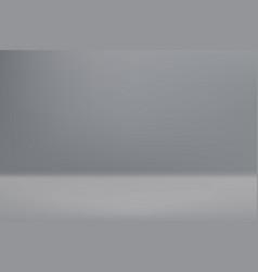 empty white color studio room vector image