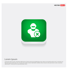 Hacker icon vector