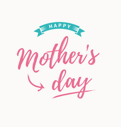 Mothers-day-card vector