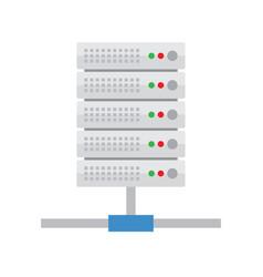 server hosting database icon vector image