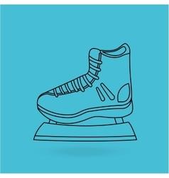 Skate isolated design vector