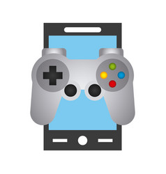 Smartphone and videogame control vector