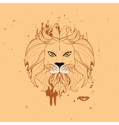 Stylized Lion Head5 vector
