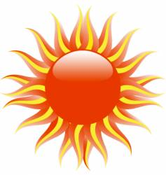 sun illustration vector image