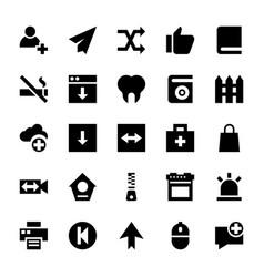 ui icons set vector image