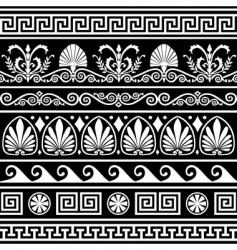 antique Greek border vector image vector image