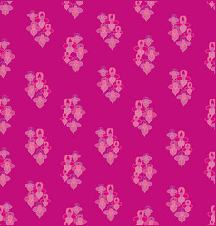 abstract floral seamless pattern flower geometric vector image