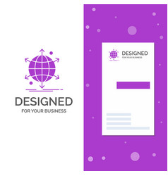 business logo for business international net vector image