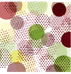 cards patterns at the background vector image