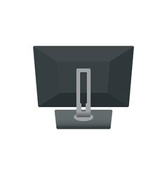 Computer Monitor Backside vector image