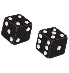 dice icon vector image