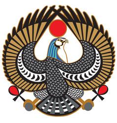 Falcon symbol horus vector