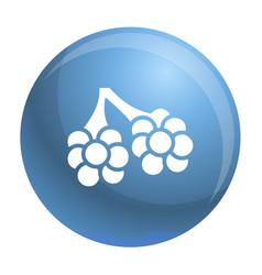 Virus alveoli icon simple style vector