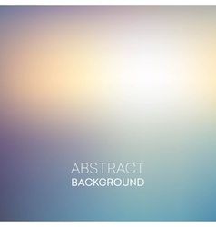 Blured backgrounds retro style background vector image