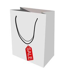 Paper bag sale vector image